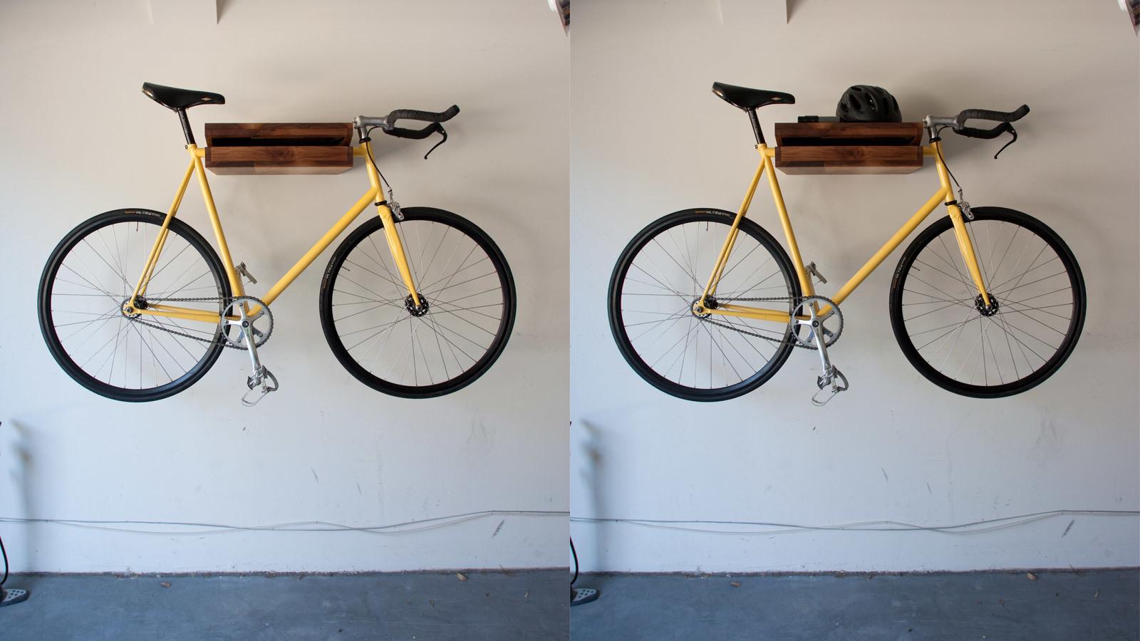 Foto de Una estantería donde colgar la bicicleta (4/5)