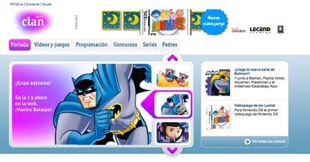 RTVE presenta su portal infantil con bastantes contenidos
