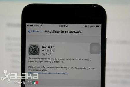 Apple lanza iOS 8.1.1 y OS X Yosemite 10.10.1