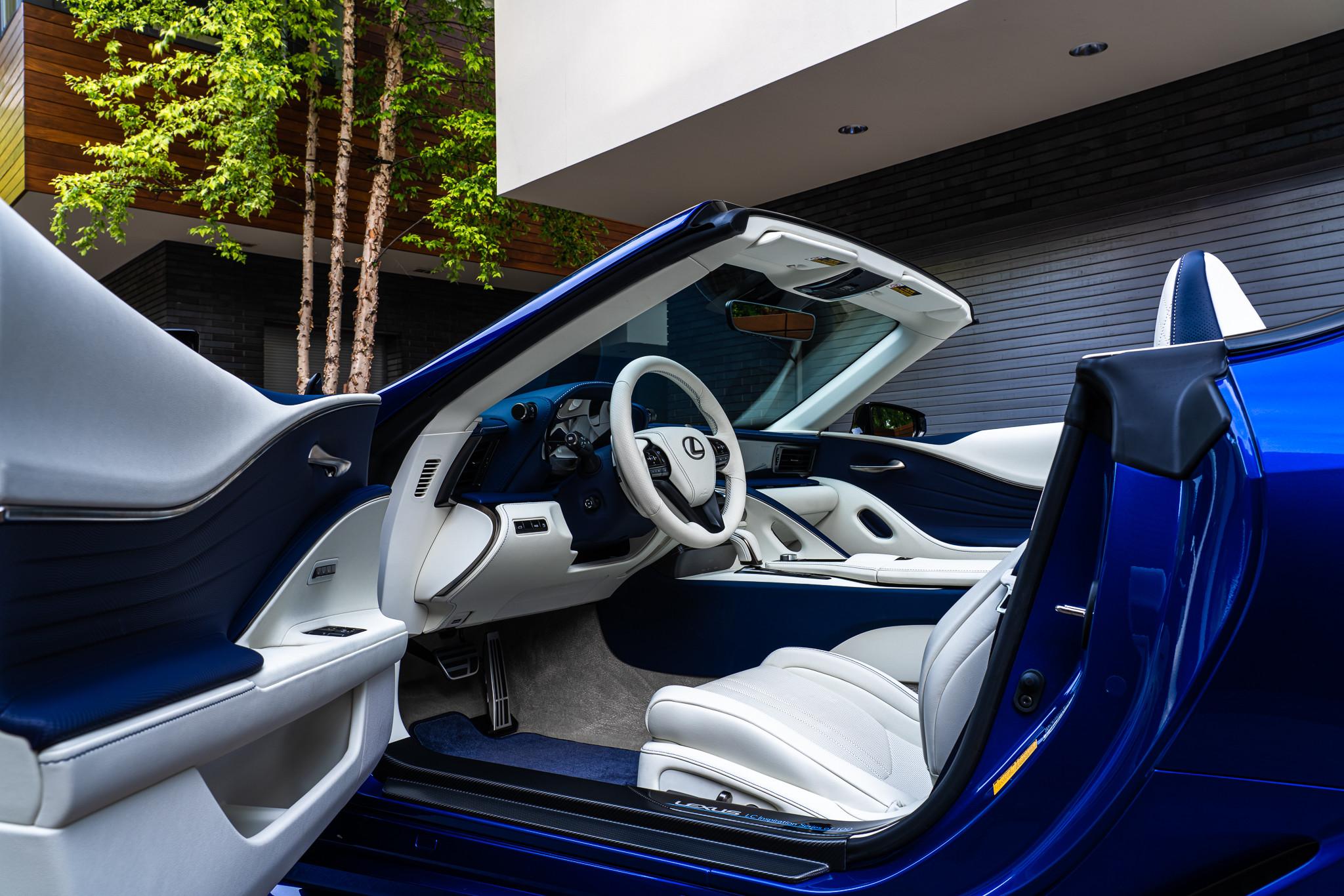 Foto de Lexus LC Cabrio Regatta Edition (7/32)