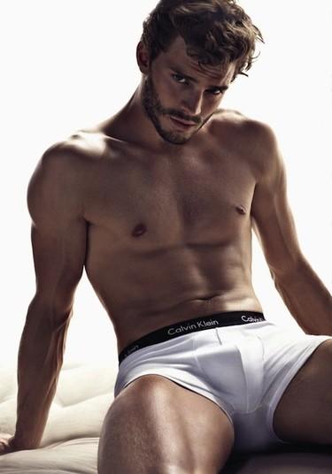¿Jamie Dornan candidato a ser Christian Grey? ¿No os han entrado muchos calores así de repente?