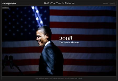 2008 en imágenes, The New York Times