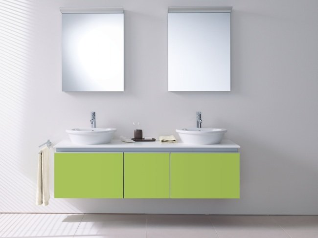 Lo nuevo de duravit colores frescos para el cuarto de ba o - Colores para el bano ...