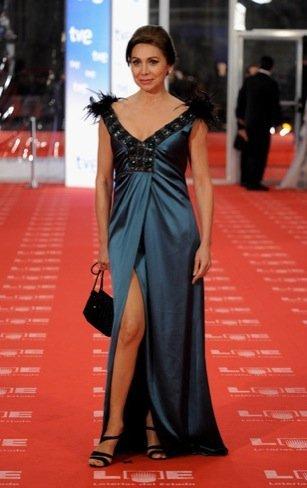 Peor vestidas Goya 2011: Isabel Prinz