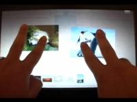 La tecnología Cypress TrueTouch de pantallas multitáctiles se pasea ante todos
