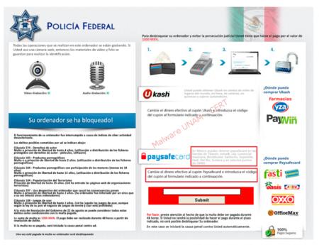 Ransomware Policia