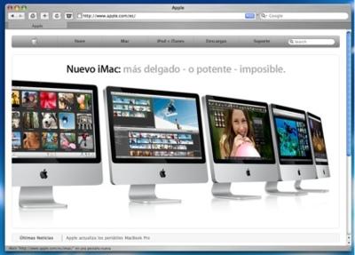 La web española de Apple ya tiene el diseño actualizado