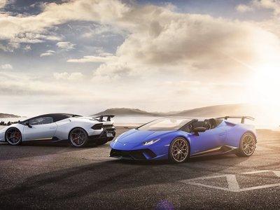 El Lamborghini Huracán Performante Spyder mejora lo inmejorable: 640 CV de V10 atmosférico a cielo abierto