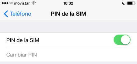 Ajustes Pin