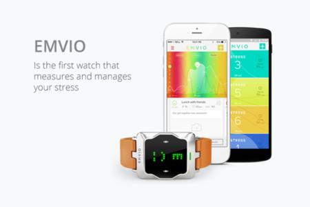 Emvio: un reloj cuantificador que te avisa cuando estás muy estresado