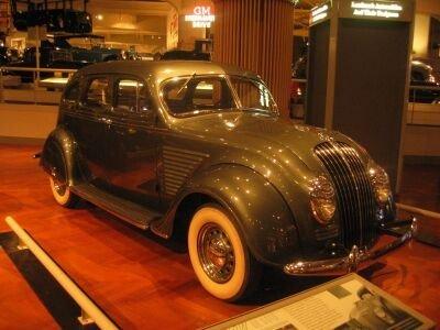1934 DeSoto Airflow 4-Dr. Sedan