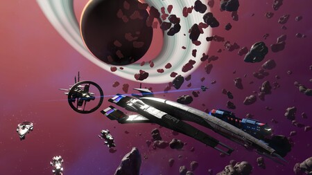 No Man's Sky anuncia una colaboración estelar: puedes conseguir la SSV Normandy SR1 de Mass Effect por tiempo limitado