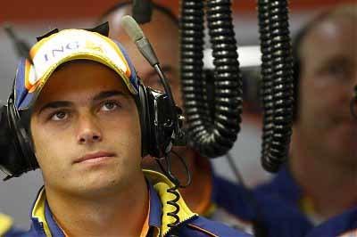 Piquet no quiere ser el escudero de Alonso