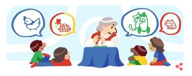 El 'doodle' de hoy de Gloria Fuertes nos lleva a descubrir tres obras suyas inolvidables (para adultos)