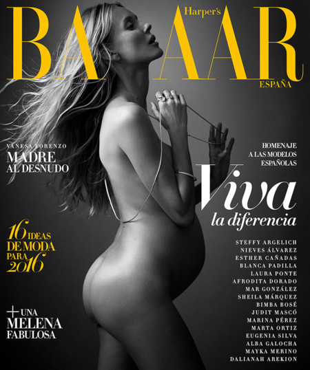 Hapers Bazaar Espana January 2016 Vanesa