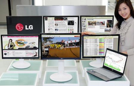 Monitores USB de LG