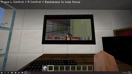 Un juego dentro de otro juego: En 'Minecraft' es posible construir una PC que corre Windows 95 y jugar 'Doom'