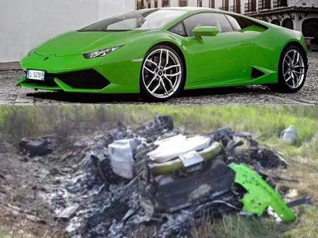 Lamborghini Huracan se accidenta a más de 300 km/hr