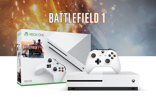 Xbox One S Battlefield 1