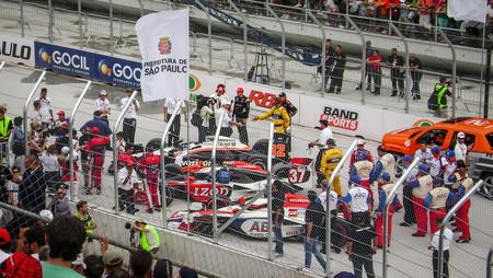 Así es la parada en boxes de la IndyCar Series