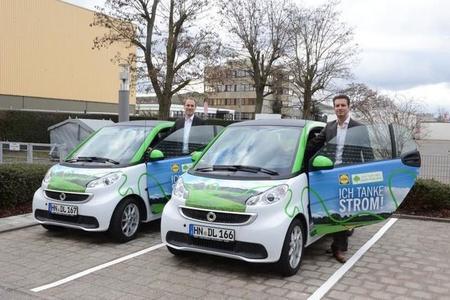 Lidl incorpora vehículos eléctricos a su flota