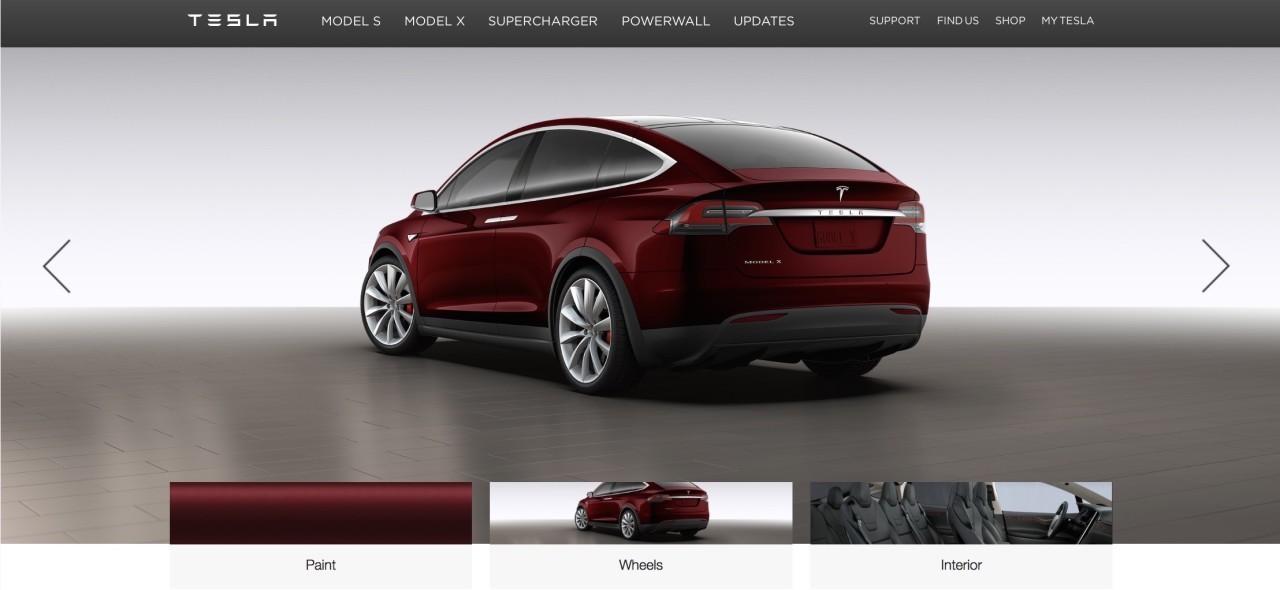 Foto de Configurando un Tesla Model X (6/15)