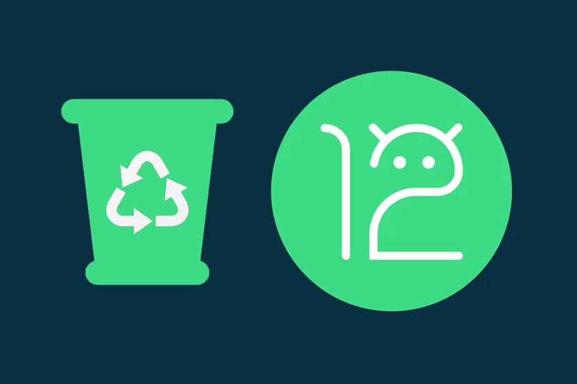 Google está integrando la papelera de reciclaje en Android 12