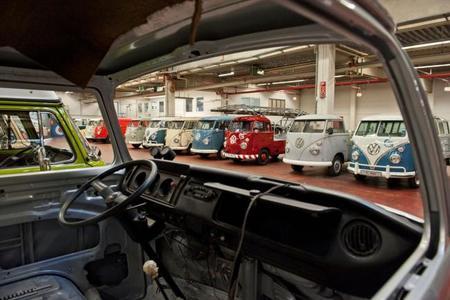 Furgonetas clásicas Volkswagen, siempre jóvenes