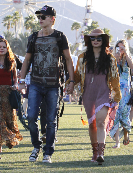 Vanessa Hudgens Coachella