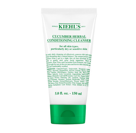 Atención pieles sensibles: Kiehl's lanza su nuevo Cucumber Herbal Conditioning Cleanser