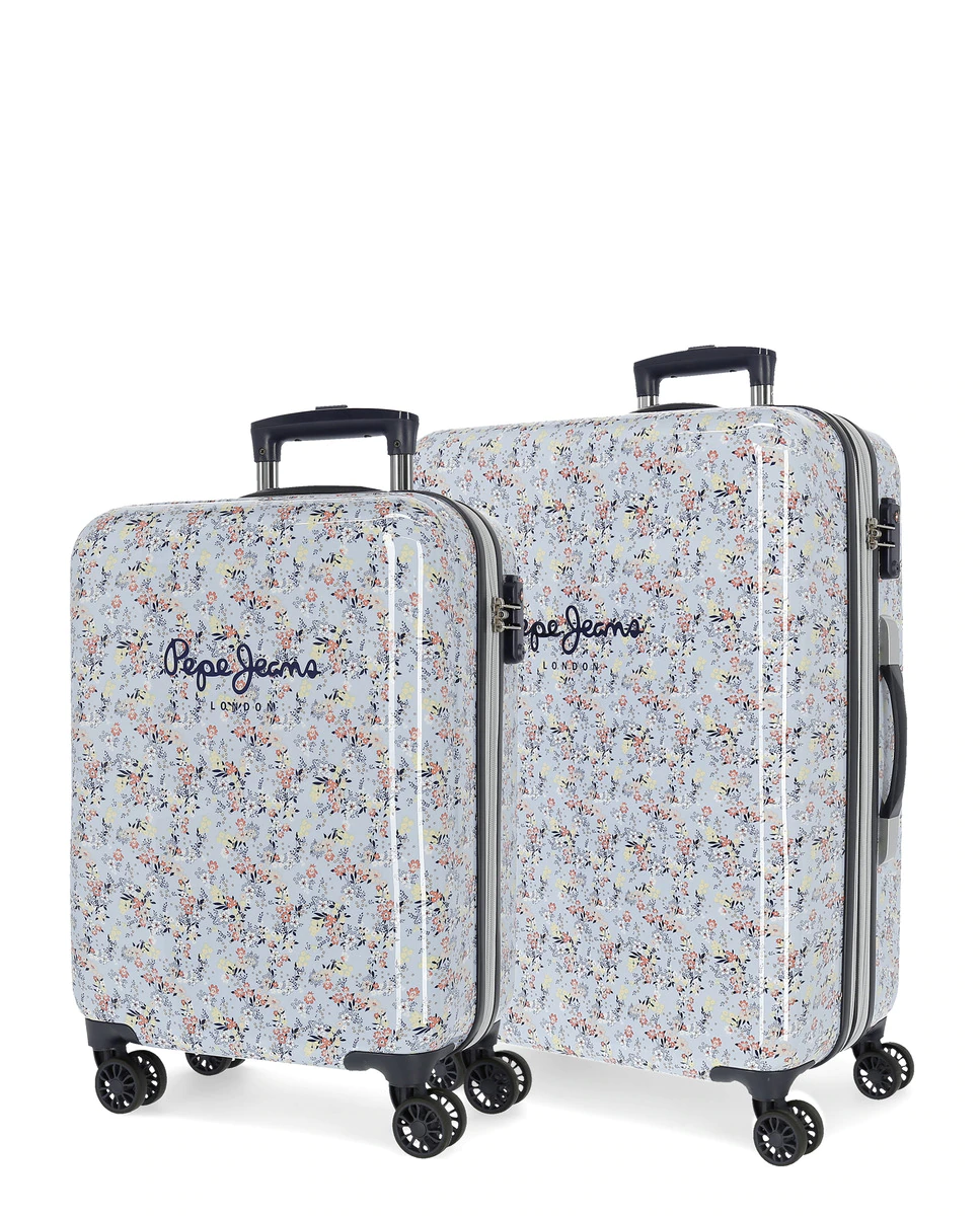 Juego de maletas (cabina y mediana) Malila rígidas con capacidad de 104L