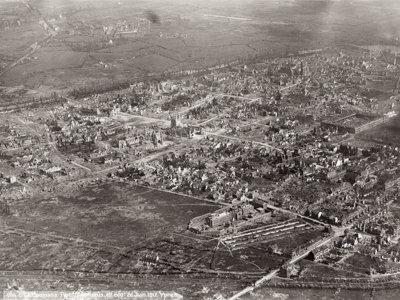 La Primera Guerra Mundial, vista a través de fotografías tomadas desde el aire
