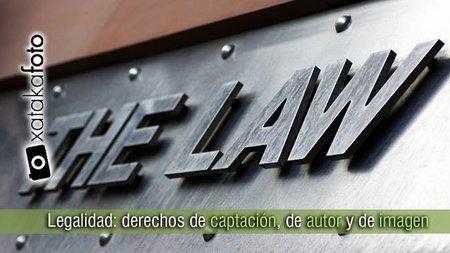 Legalidad: derechos de captación, de autor y de imagen