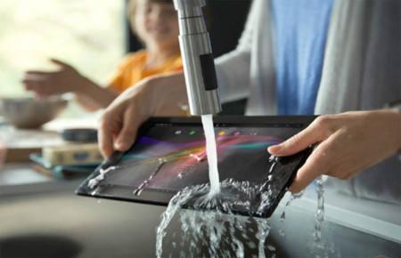 Tablet de cocina: Sony Xperia Tablet Z Kitchen Edition