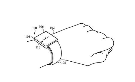 Una correa para el Apple Watch autoajustable, así es la última patente de Apple