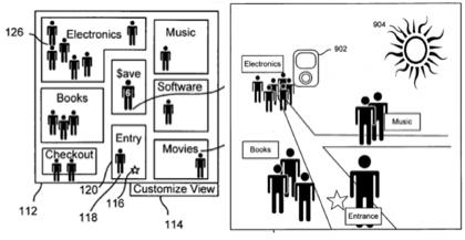 Nueva patente de Apple muestra un nuevo tipo de tienda virtual