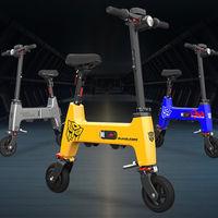 HIMO H1, la nueva bicicleta eléctrica plegable financiada por Xiaomi: la más pequeña que han lanzado hasta la fecha