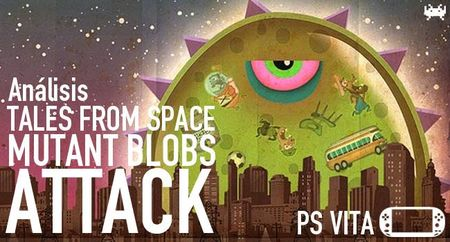 'Tales from Space: Mutant Blobs Attack' para PS Vita: análisis