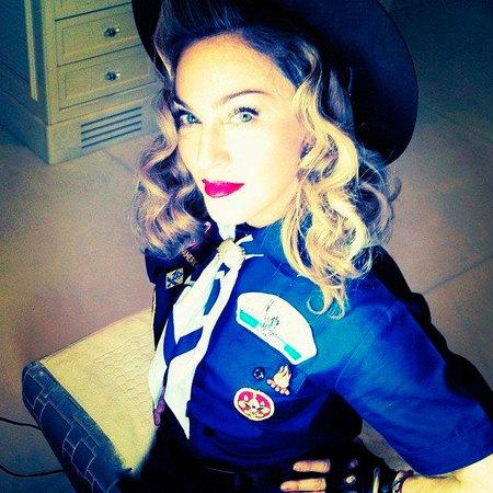 Madonna a lo boy scout ¿me lo explique?