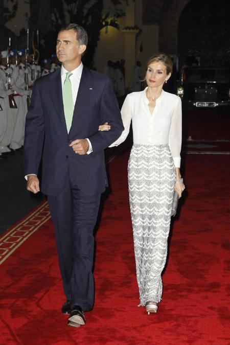Reyes de España Felipe y Letizia