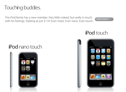 iPod Nano Touch 3