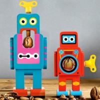 Deja que un robot casque las nueces por ti