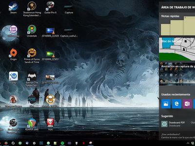 Cómo habilitar el área de trabajo de Windows Ink sin tener una tableta de dibujo