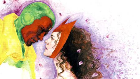 'Bruja Escarlata y Visión' a través de los cómics: así es la historia de amor del sintezoide y la mutante que destrozó a los Vengadores