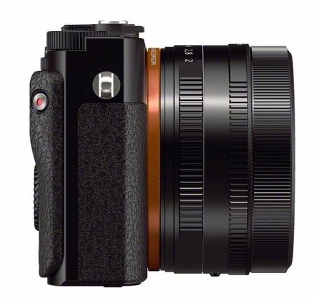 Sony RX1 vista lateral