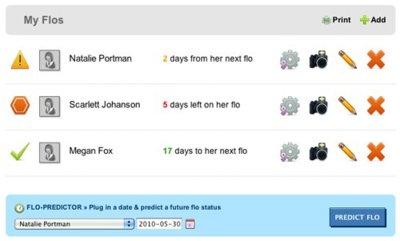 Flojuggler te ayuda a gestionar los periodos de las mujeres para planear citas