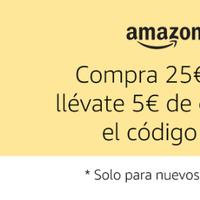 5 euros de descuento por la cara para gastar en Amazon Pantry