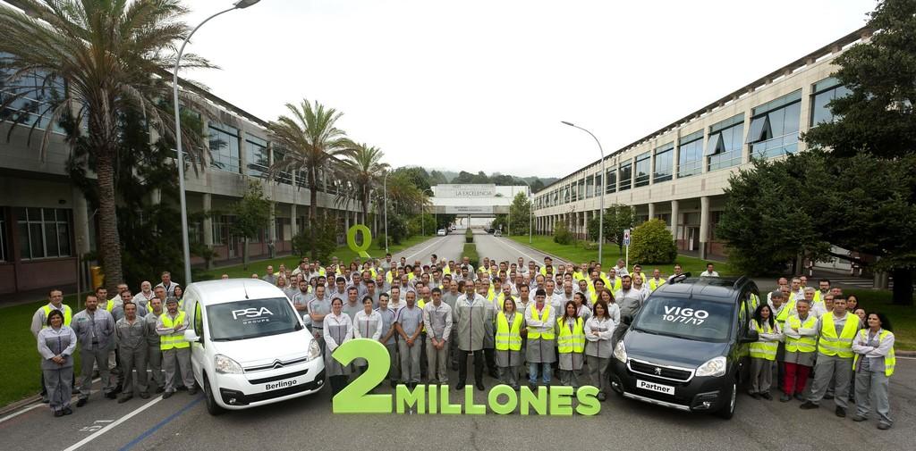 Citroën Berlingo y Peugeot Partner dos millones