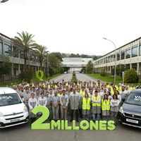 "Es hora de celebrar que ya hay 2 millones de Citroën Berlingo y Peugeot Partner actuales con sello ""Made in Spain"""