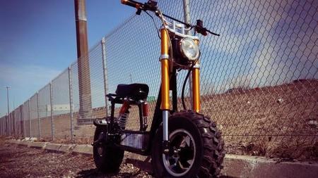 The Beast, un ciclomotor eléctrico que se recarga con energía solar